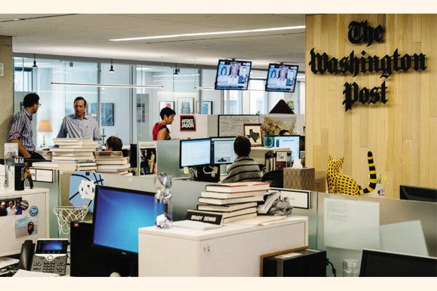Inside the Washington Post office