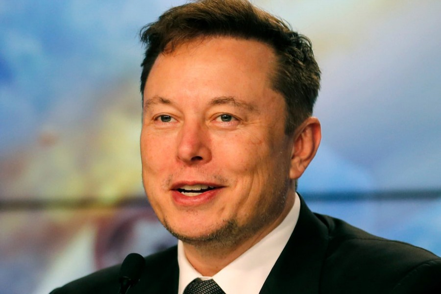 Tesla chief Elon Musk seen in this undated Reuters photo