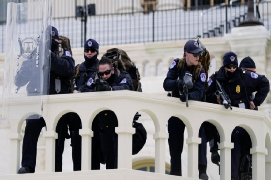Police officer's death intensifies Capitol siege questions