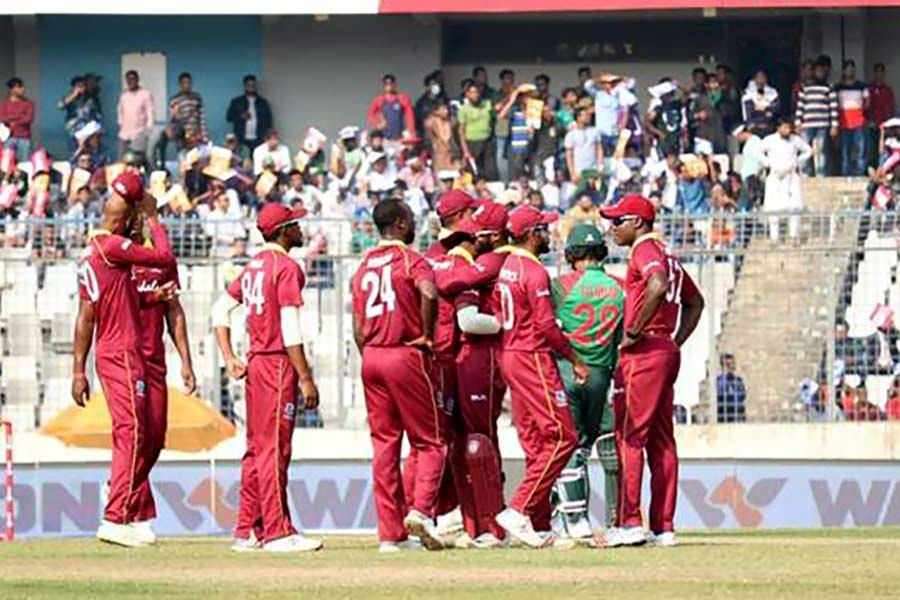 West Indies to arrive in Dhaka Sunday