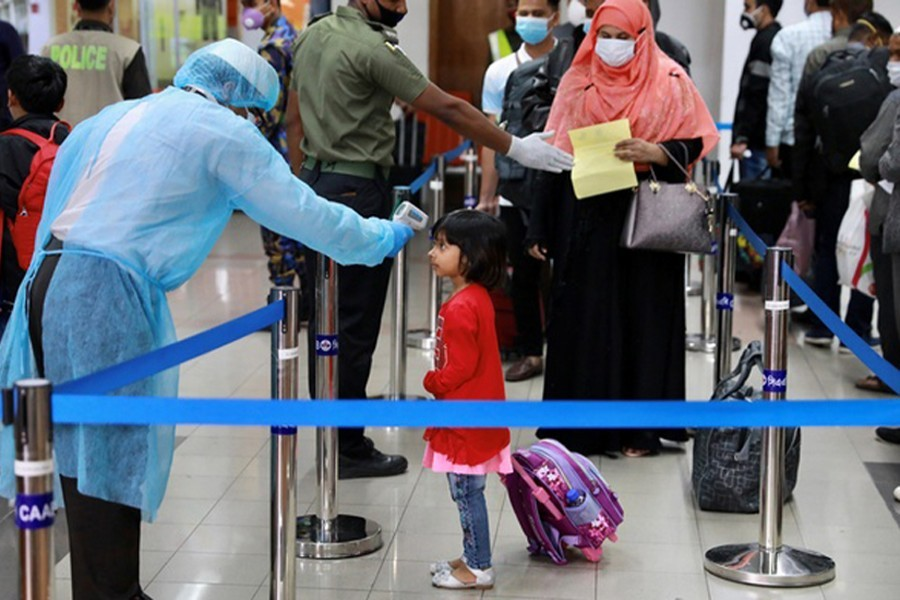 Only four-day quarantine for UK returnees now
