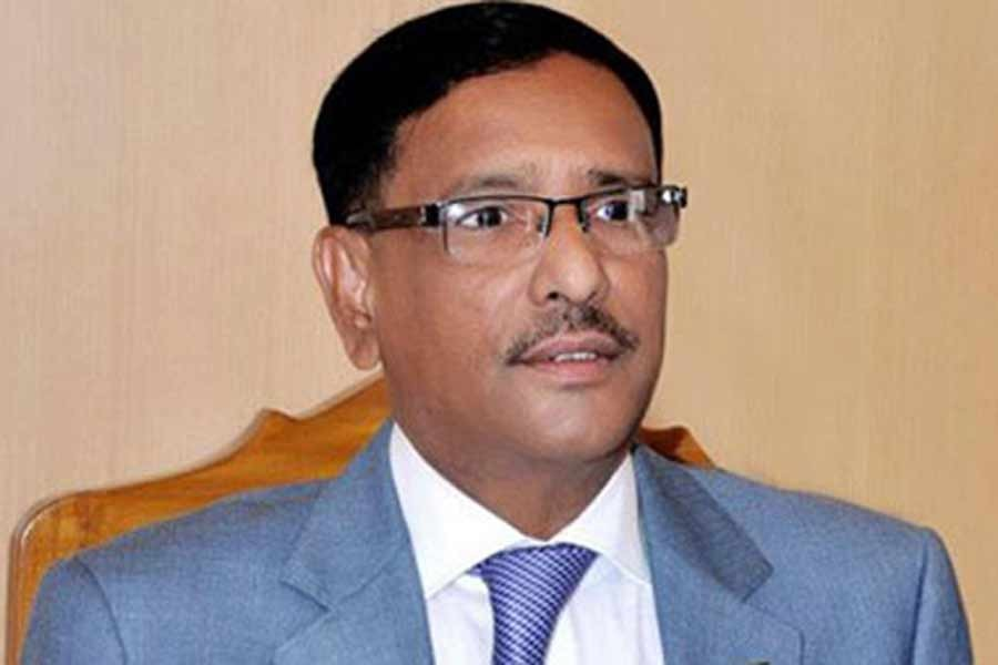 People reply to BNP's falsehood over polls, Obaidul Quader says