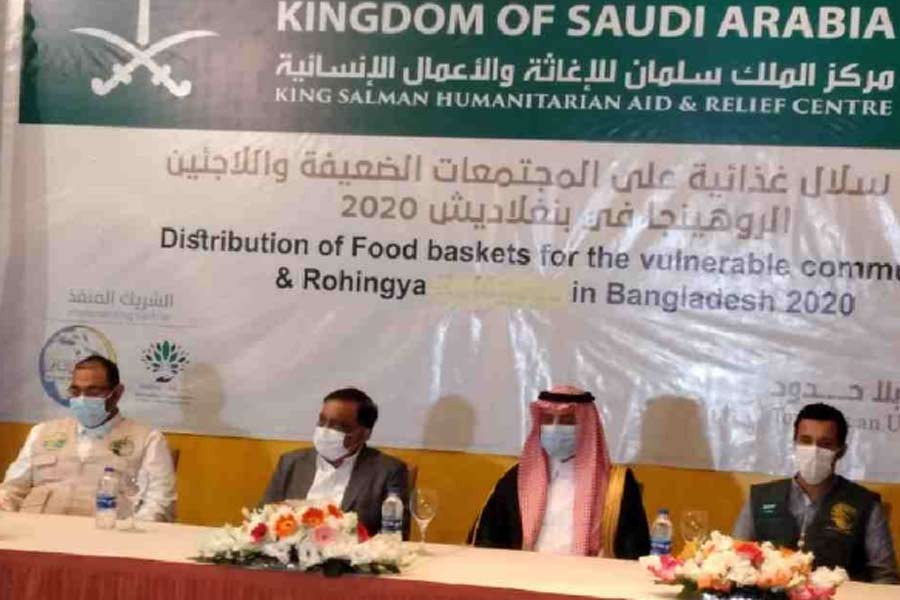 'Rohingya with Bangladeshi passport in Saudi Arabia considered as Bangladeshi'