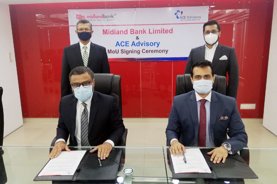 Midland Bank signs MoU with ACE Advisory