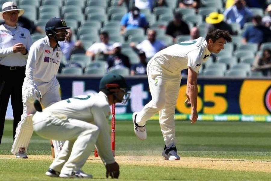 India dismisses Australia for 294, needs 328 to win fourth Test
