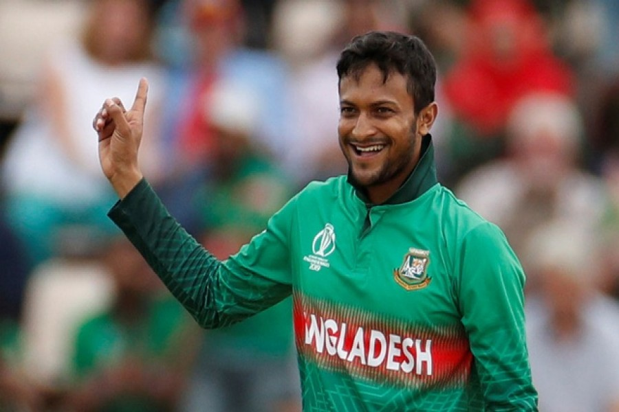 Shakib returns with 4-8 as Bangladesh defeats West Indies