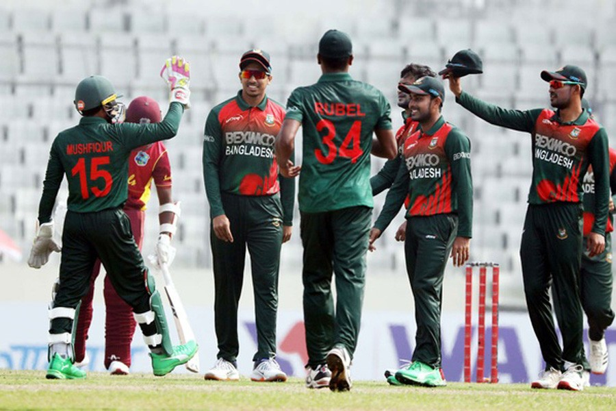 Windies all out for 148, Miraz takes four wickets
