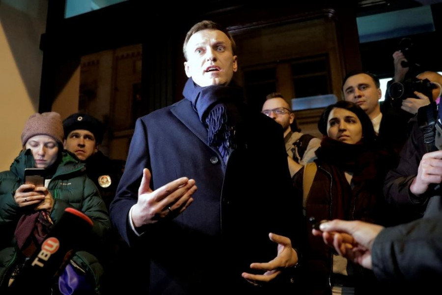 Kremlin critic Alexei Navalny - Reuters photo