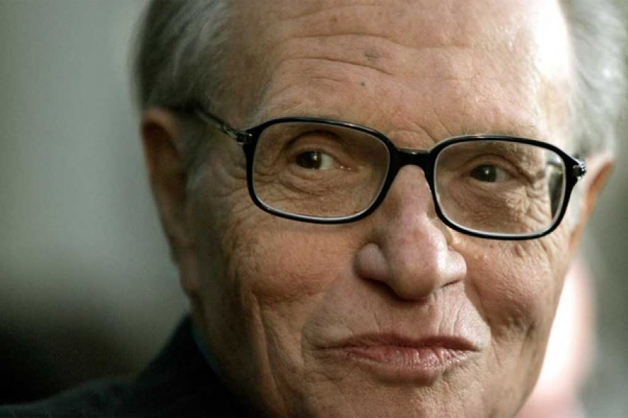 Talk show host Larry King attends a party to celebrate his 20 years with CNN in Beverly Hills, US, Oct 6, 2005. REUTERS