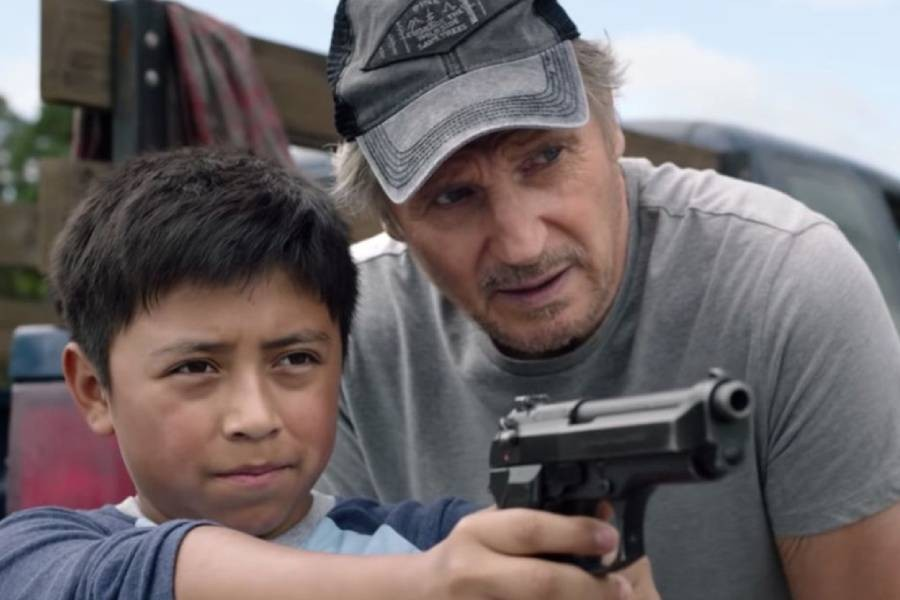 'The Marksman' captures top spot with $2.0m
