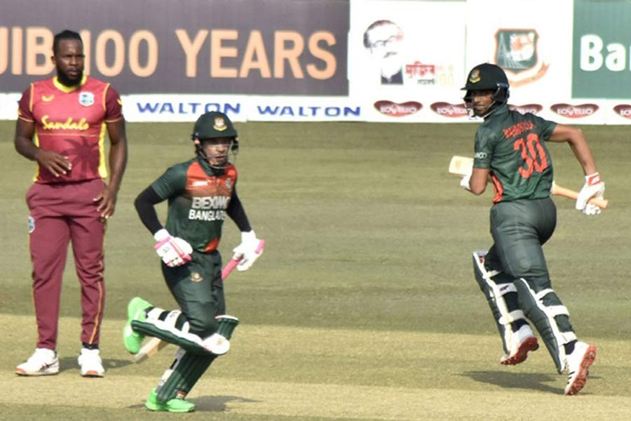 Tigers post 297-6 with four half-centuries in last ODI against Windies
