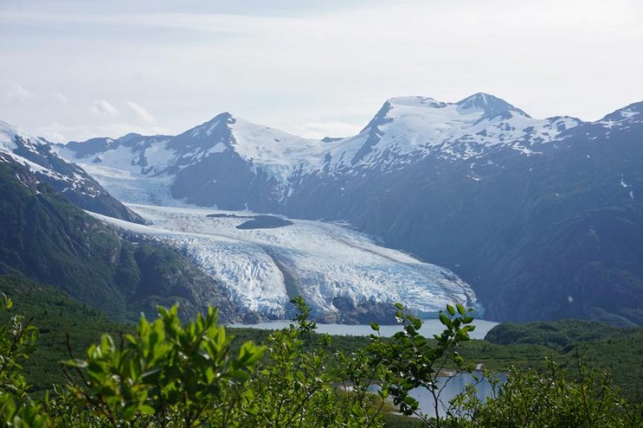 Portage Glacier as seen from Portage Pass in Chugach National Forest in Alaska, US, July 07, 2020 — Reuters/Files