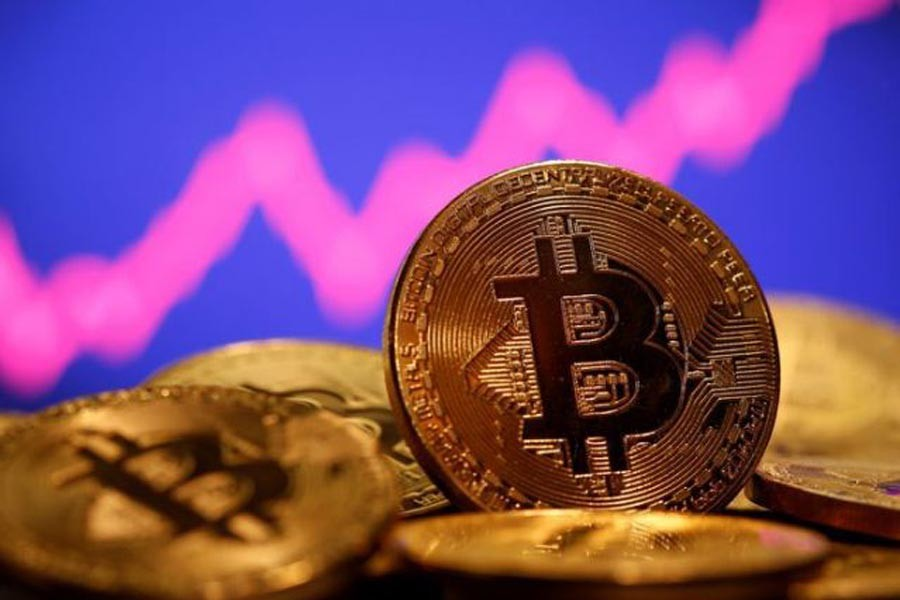 Bitcoin price down after rising sharply by over 10%