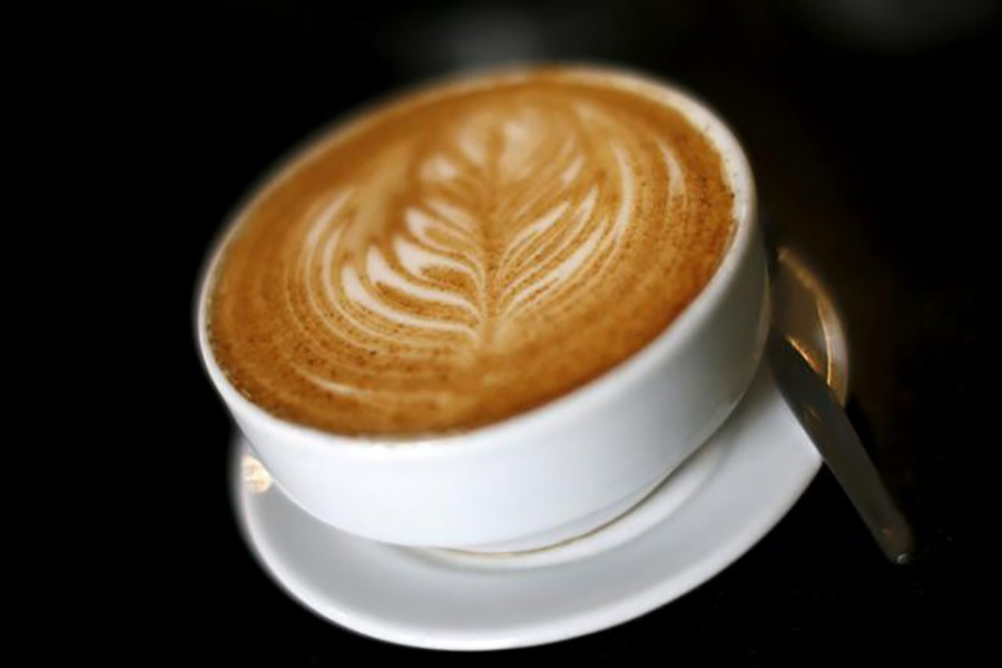 A cup of coffee is seen in this undated Reuters photo