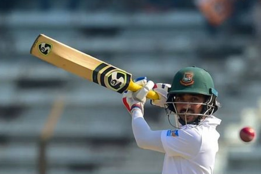 Mominul fifty strengthens Tigers' dominance in WIndies test