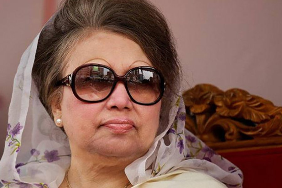 BNP announces protest programme to mark Khaleda's jailing anniversary