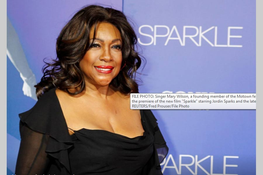 Mary Wilson, The Supreme cofounder, dies aged 76