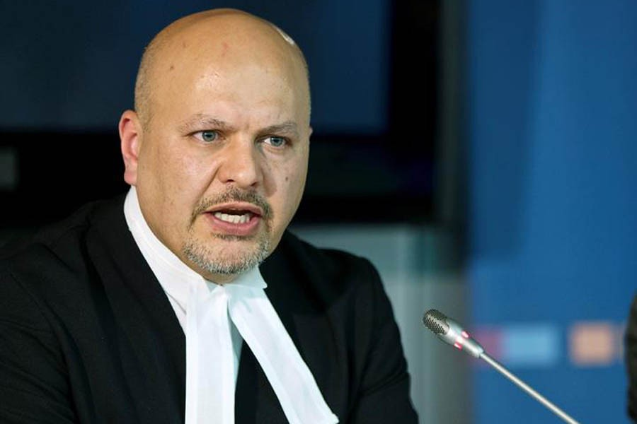 Defence Counsel for Kenya's Deputy President William Ruto, Karim Khan attends a news conference before the trial of Ruto and Joshua arap Sang at the International Criminal Court (ICC) in The Hague September 09, 2013 — Reuters/Files
