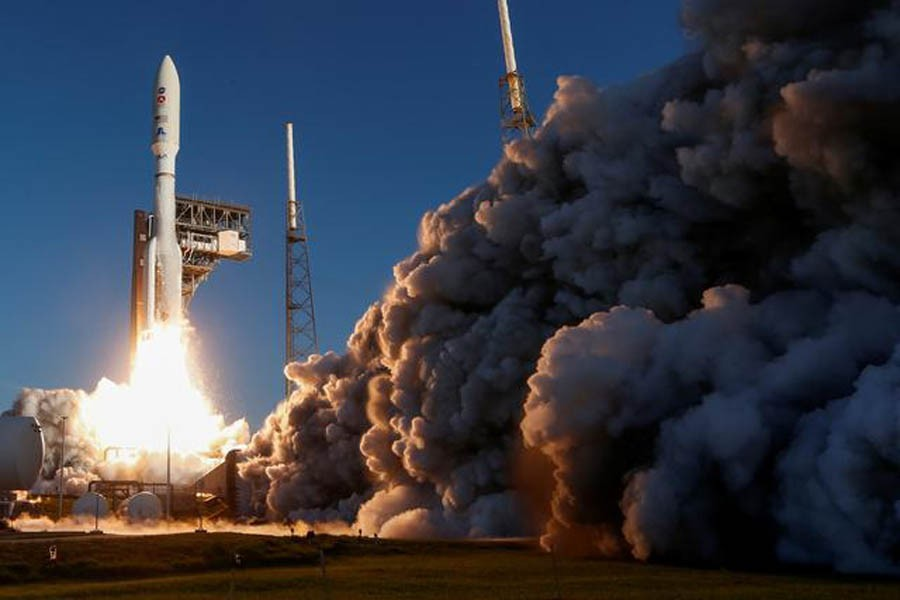 A United Launch Alliance Atlas V rocket carrying NASA's Mars 2020 Perseverance Rover vehicle lifts off from the Cape Canaveral Air Force Station in Cape Canaveral, Florida, US, July 30, 2020 — Reuters/Files