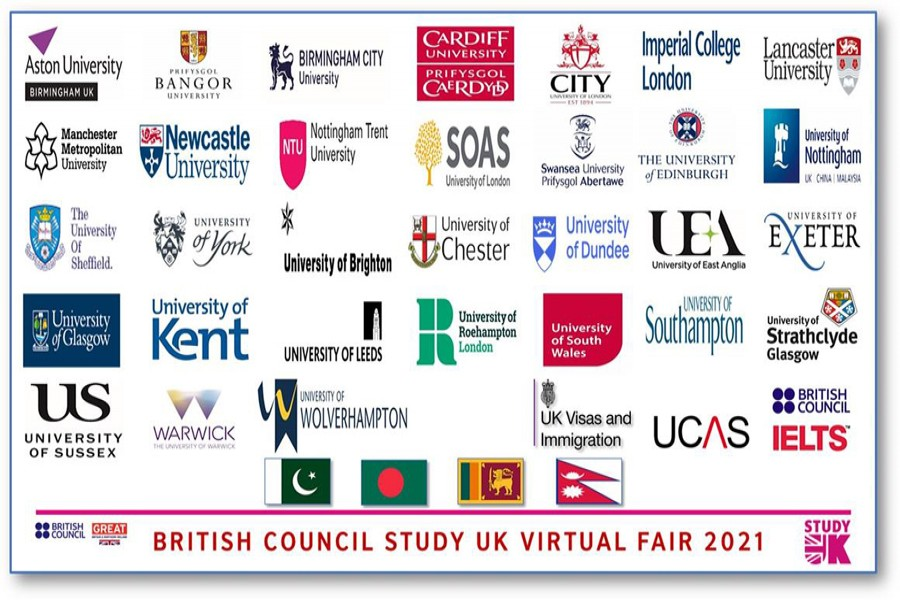 British Council to hold virtual fair on studying in UK