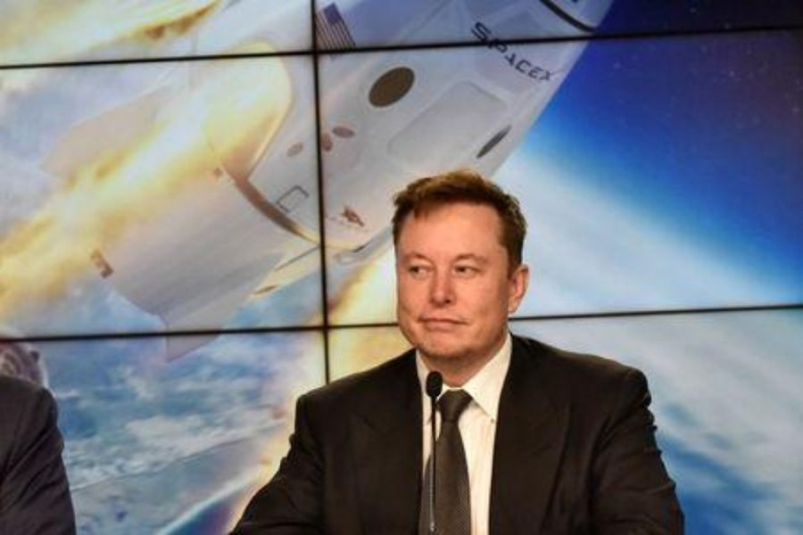 SpaceX founder and chief engineer Elon Musk attends a news conference at the Kennedy Space Center in Cape Canaveral, Florida, US on January 19, 2020 — Reuters/Files