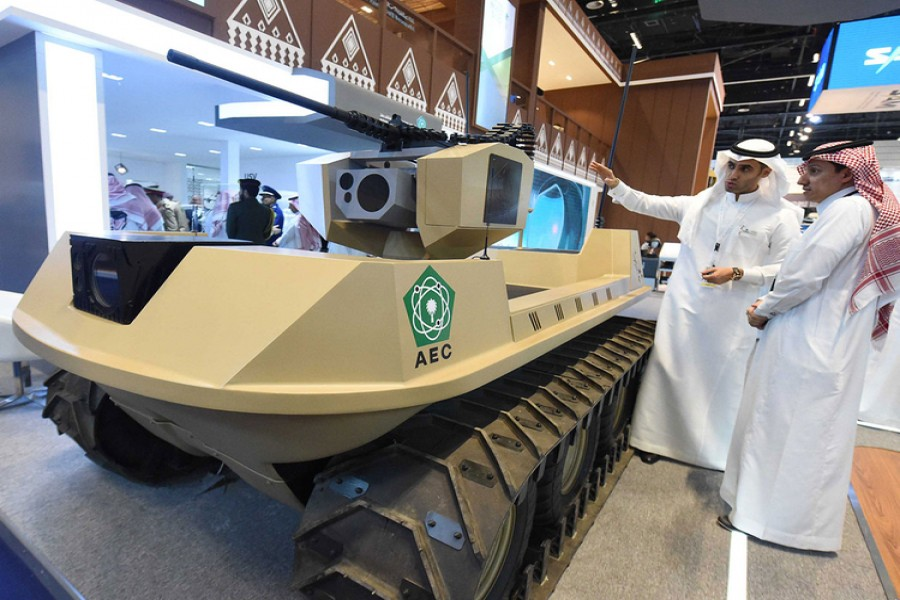 Saudi Arabia to invest more than $20b in its military industry over next decade