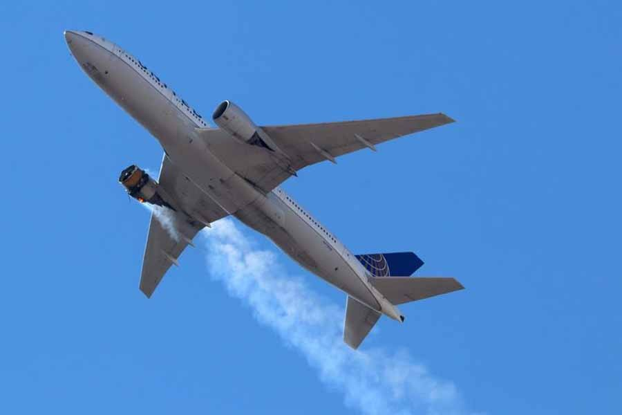 United incident leads Boeing to recommend suspending use of some 777s