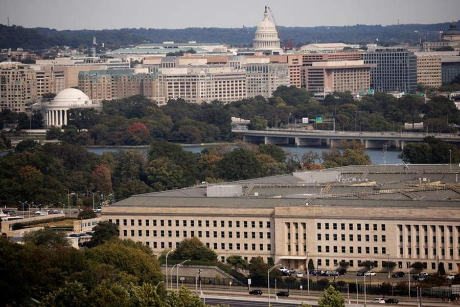 The Pentagon building in Virginia of the United States -Reuters file photo