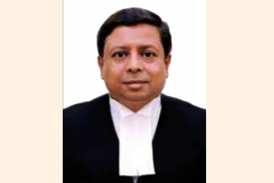 File photo of Justice Mirza Hussain Haider