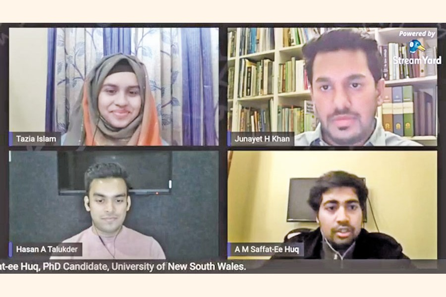 Session on preparation for higher studies abroad