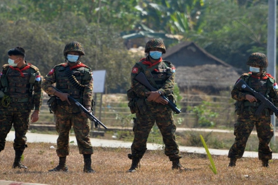 """""""I will shoot whoever I see"""": Myanmar soldiers use TikTok to threaten protesters"""