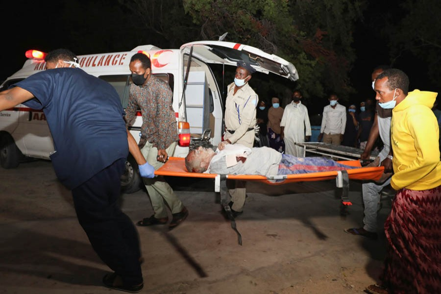 20 killed by suicide car bomb in Somalia