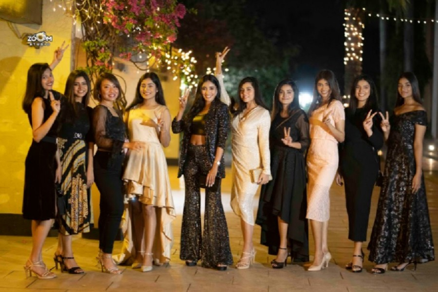 An evening with top 10 Miss Universe contestants