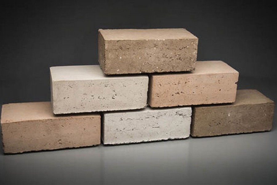 Eco-friendly brick making