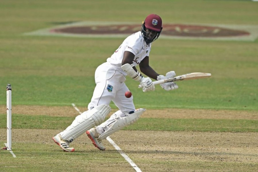 File photo shows Nkrumah Bonner in action. Photo courtesy: ICC