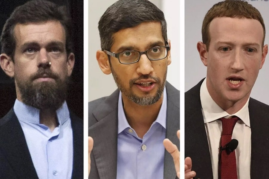 Big Tech CEOs told 'time for self-regulation is over'