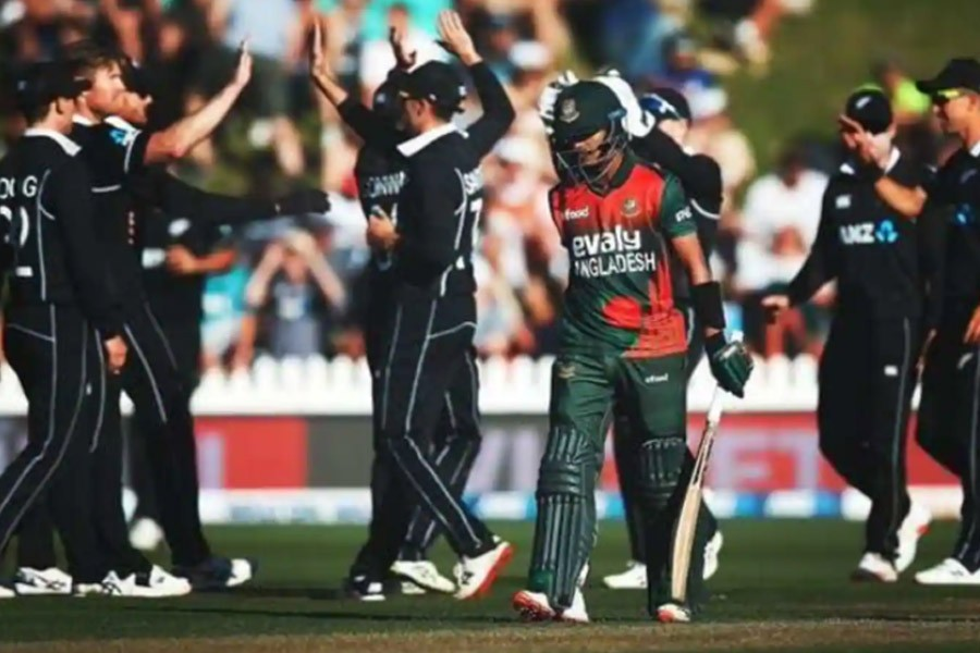 Tigers whitewashed by Kiwis in ODI series