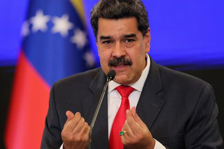 Facebook freezes page of Venezuela's Maduro over Covid-19 misinformation