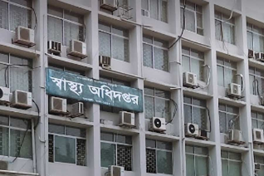 Health ministry's performance concerning