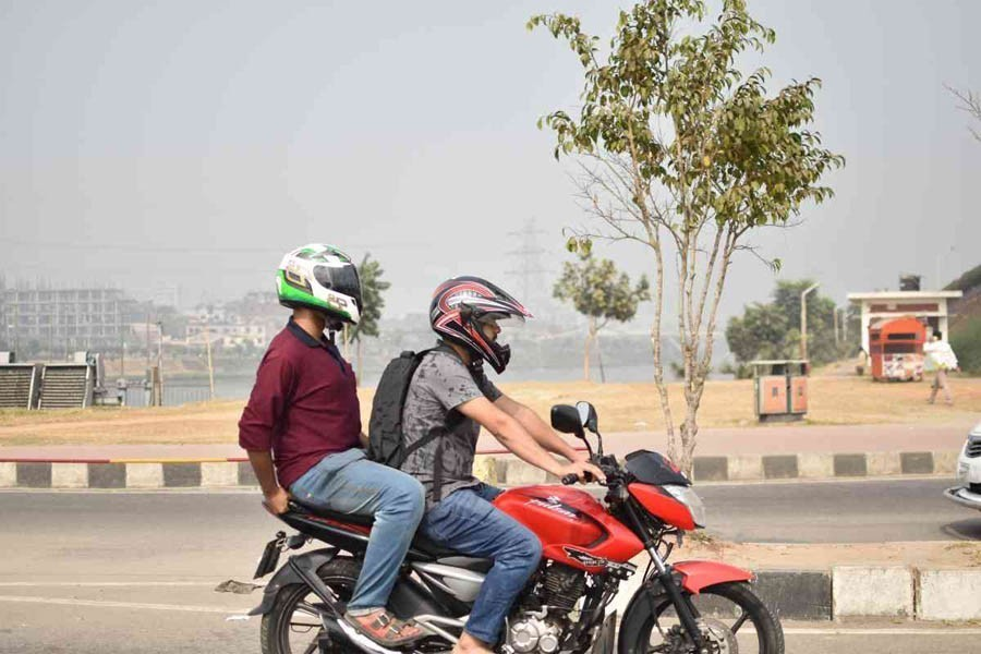 Case for road-friendly motorbikes