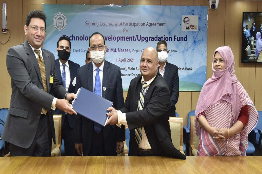 Prime Bank signs agreement with BB to avail refinancing support for export oriented industries