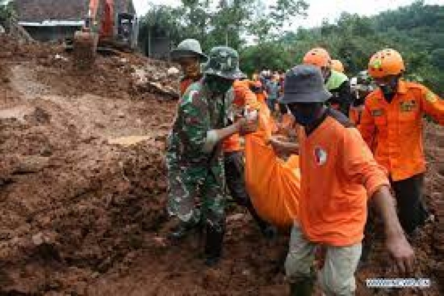 Indonesia landslides death toll rises to 119