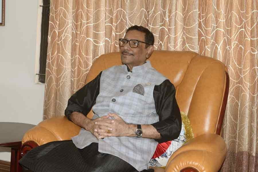 Obaidul Quader urges party men to deal with Hefajat politically
