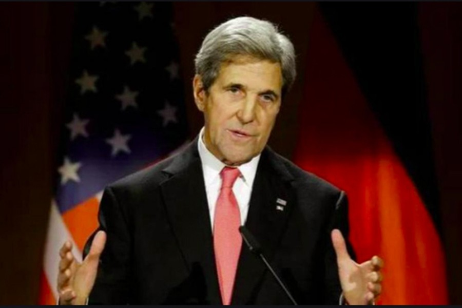 US climate envoy Kerry arriving in Dhaka Friday with Biden's summit invitation