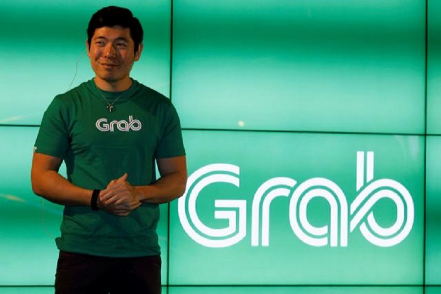 Grab's CEO Anthony Tan speaks during Grab's fifth anniversary news conference in Singapore, June 6, 2017 — Reuters/Files
