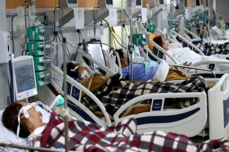 Hospitals run short of beds as Asia's COVID-19 cases surge