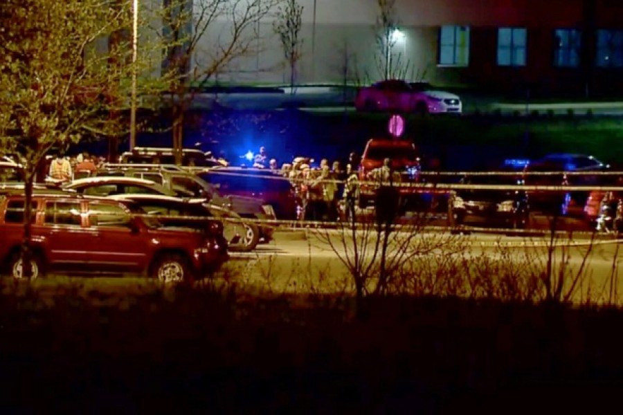 Eight killed in mass shooting at FedEx warehouse in Indianapolis
