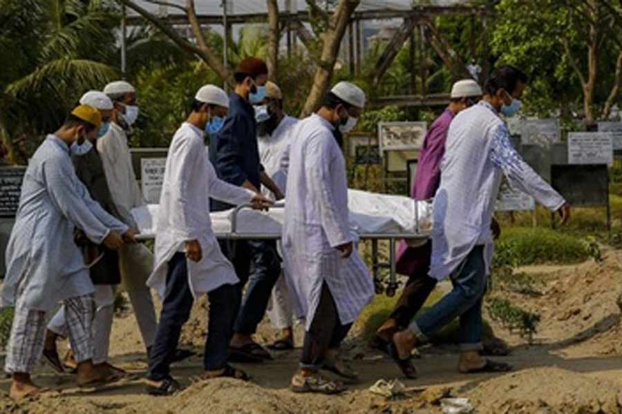 Bangladesh reports 112 virus deaths in 24 hours
