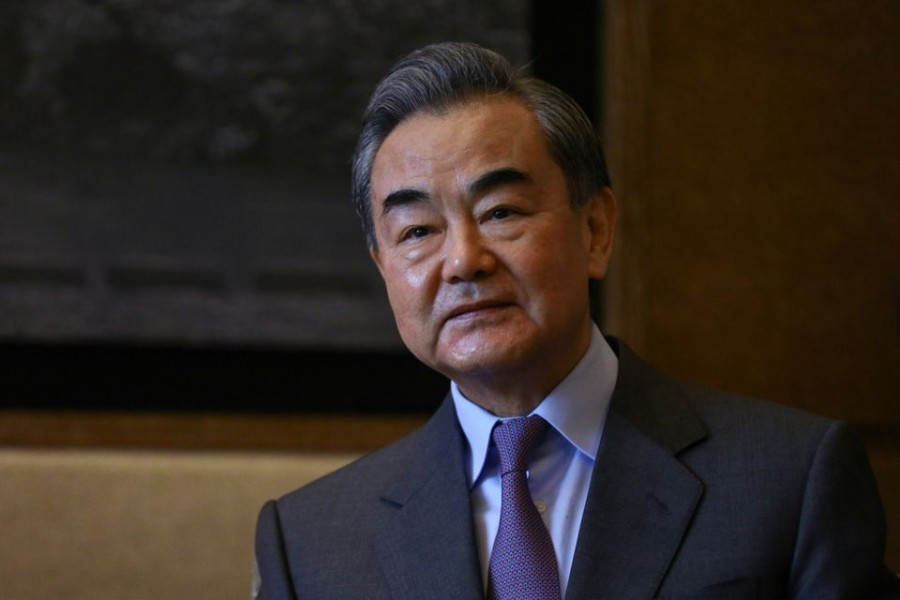 China's State Councilor and Foreign Minister Wang Yi seen in this undated Reuters photo