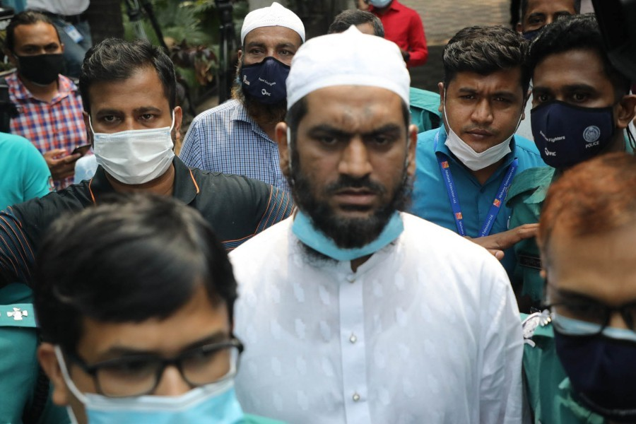'Hifazat's Mamunul had links with Aug 21 grenade attack militants'